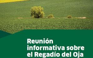 Agricultura explica el jueves en Santo Domingo el futuro plan de regadío de la cuenca del Oja