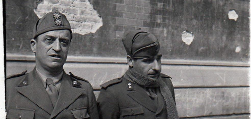 Entre Mussolini y La Glorieta