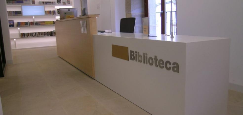 La biblioteca municipal de Lardero recibió 11.700 visitas durante el 2017
