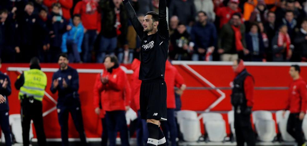 Sergio Rico da la victoria al Sevilla