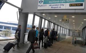 Cierran el aeropuerto de la City de Londres por una bomba de la II Guerra Mundial
