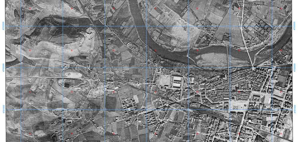 El Gobierno riojano cuelga en su web la imagen área completa más antigua de La Rioja