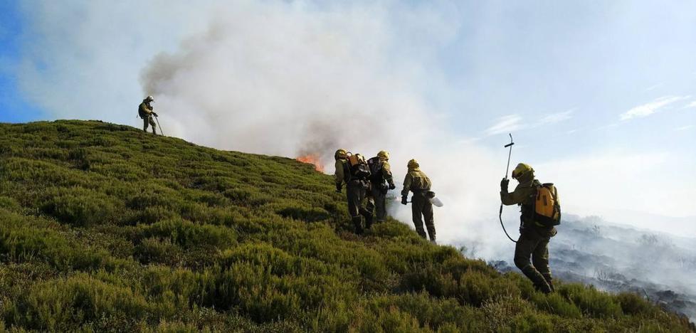 El 'factor humano', detrás del 94% de los incendios en La Rioja