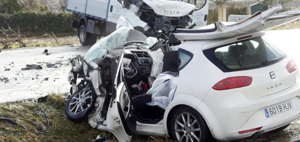 El herido del accidente mortal de Entrena permanece en cuidados intensivos