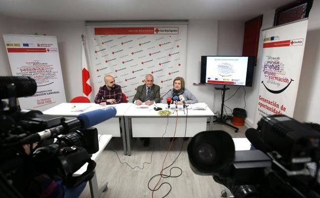 Cruz Roja encontró trabajo para 226 personas en Logroño el año pasado
