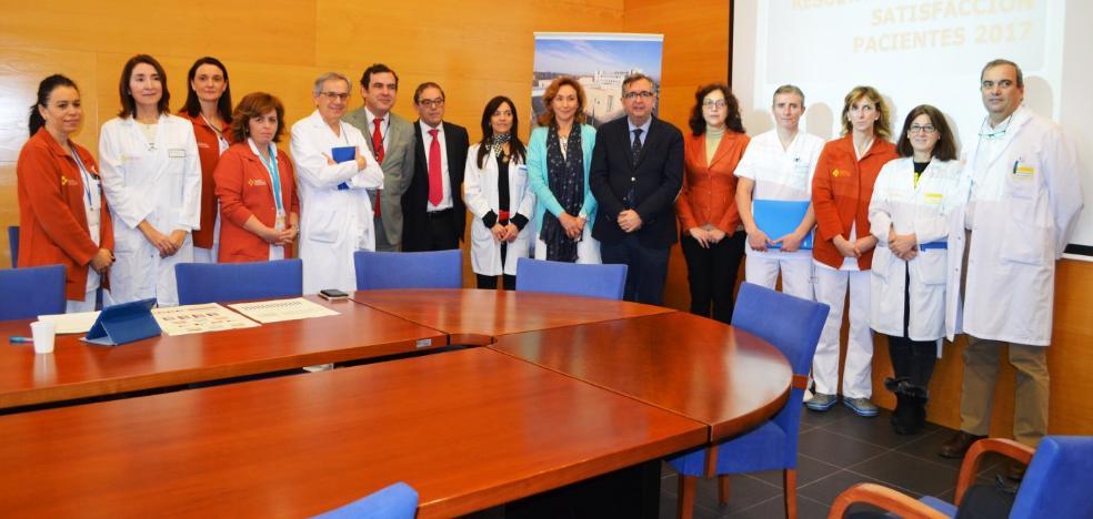 Los pacientes puntúan con una nota de 8,61 la atención en el Hospital de Calahorra