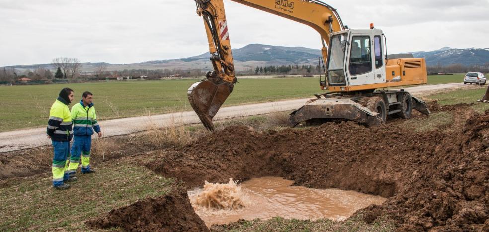 Santo Domingo sufre otra rotura en su red de agua, que no afecta al vecindario