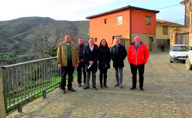 Visita de Cuevas y Sáenz a Cornago y Valdeperillo