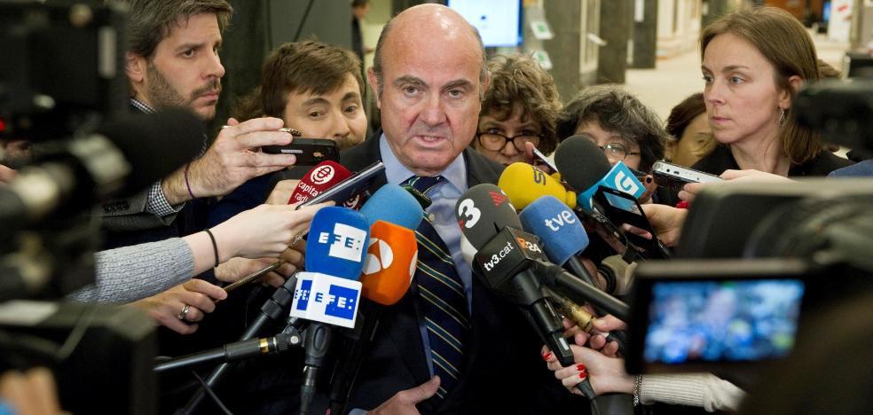 De Guindos cree que cuenta con los apoyos necesarios para reconquistar el BCE