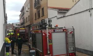 Pequeño incendio en una vivienda en Alfaro