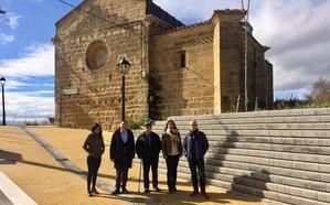 Reurbanizada la calle de la Iglesia de Galbárruli