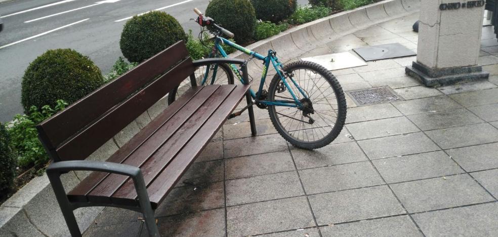 Una bici que ya es parte del paisaje urbano