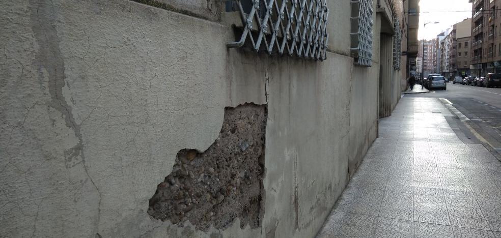 El PSOE exige la «limpieza» y «desratización» del antiguo cuartel de la Guardia Civil