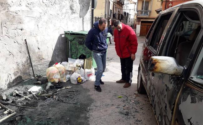 Dos incendios sin víctimas en Calahorra