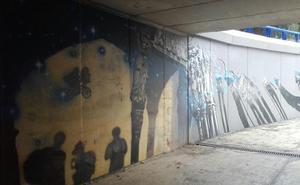 #Andestaba: E.T. vuela en un paso subterráneo