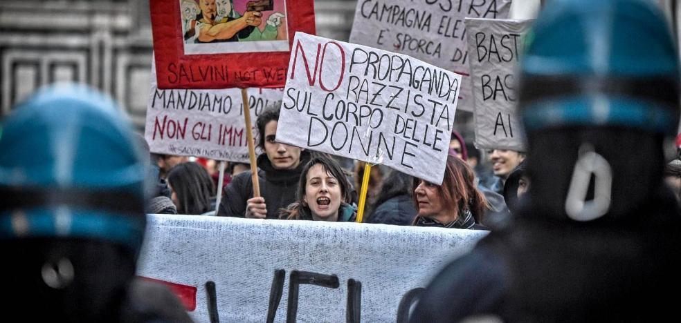 La Liga Norte agita el miedo a la 'invasión' extranjera