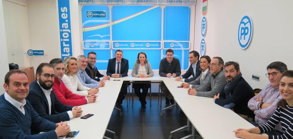 Gamarra, proclamada presidenta del PP logroñés