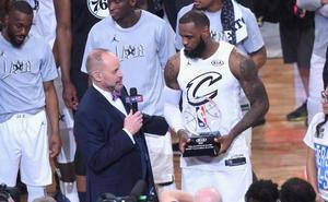 LeBron se corona en el duelo ante el conjunto de Stephen Curry
