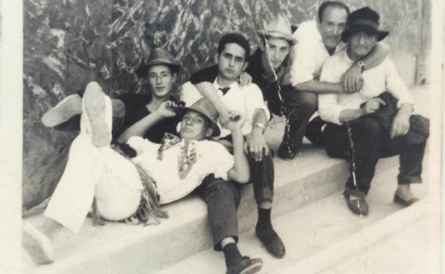 Cuadrilla  de Cervera,  en 1962