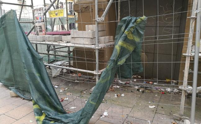 Nuevo basurero en el centro de Logroño