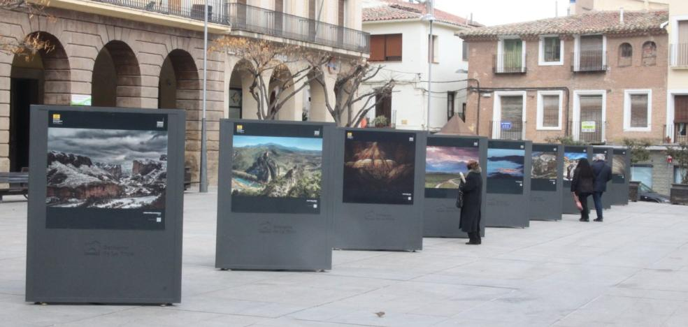 EXPOSICIÓN EN LA PLAZA DE ESPAÑA