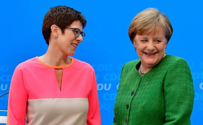 Merkel designa a su heredera en la CDU