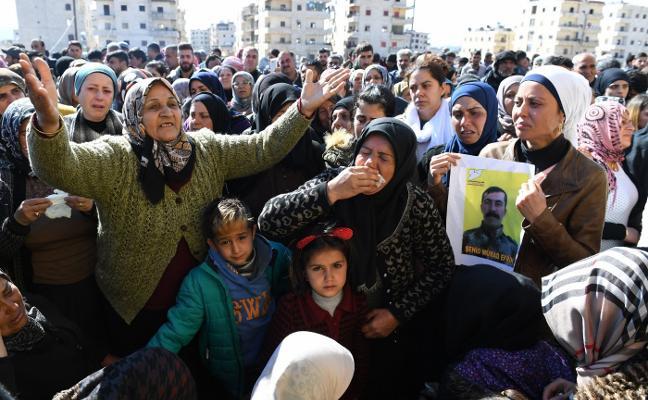 Milicias proAsad acudirán al auxilio de los kurdos