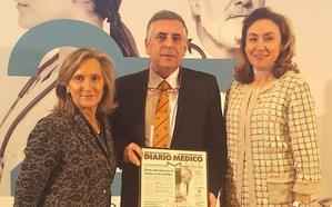 El doctor José Antonio Oteo, reconocido como 'Embajador de la Medicina Española'