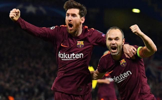 Messi saca vivo al Barcelona