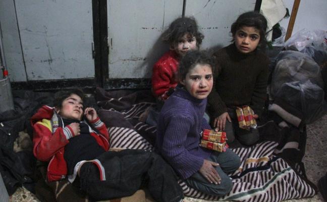 Turquía aleja a cañonazos a los sirios