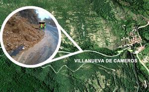 Desprendimientos en el entorno de Villanueva de Cameros