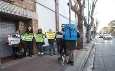 Protesta vecinal contra la tala de árboles en Club Deportivo