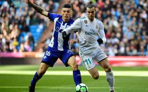 Bale marca el segundo del Real Madrid