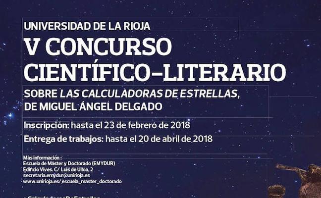 Se amplía al 4 de marzo la inscripción en el V Concurso Científico-Literario de la UR