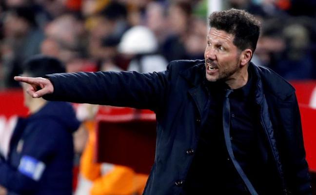 Simeone: «Nos llevamos una victoria dura, difícil, pero muy importante»