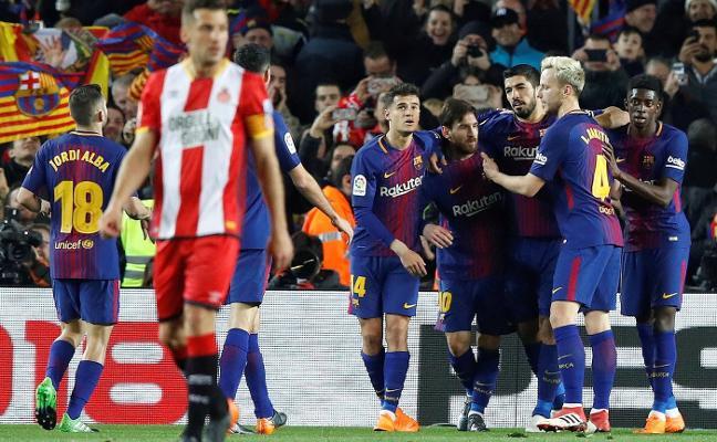 El dinero del Barça en el campo, pero por un día