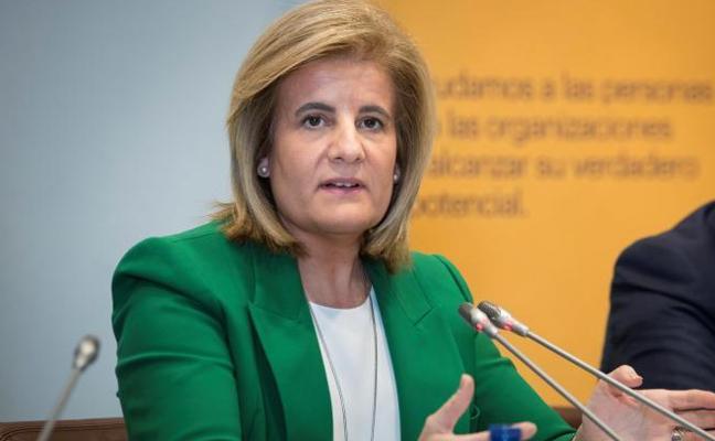 Báñez afirma que la brecha salarial «está en mínimos históricos»