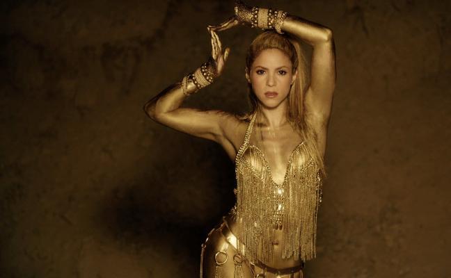Shakira, con 20 'kilos' menos