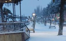 Las localidades riojanas, nevadas