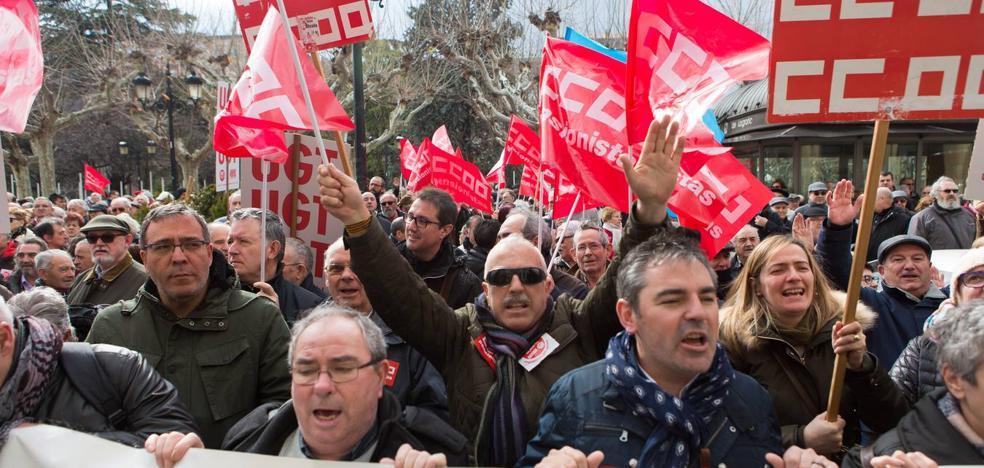 «Rajoy, cabrón, nos robas la pensión»