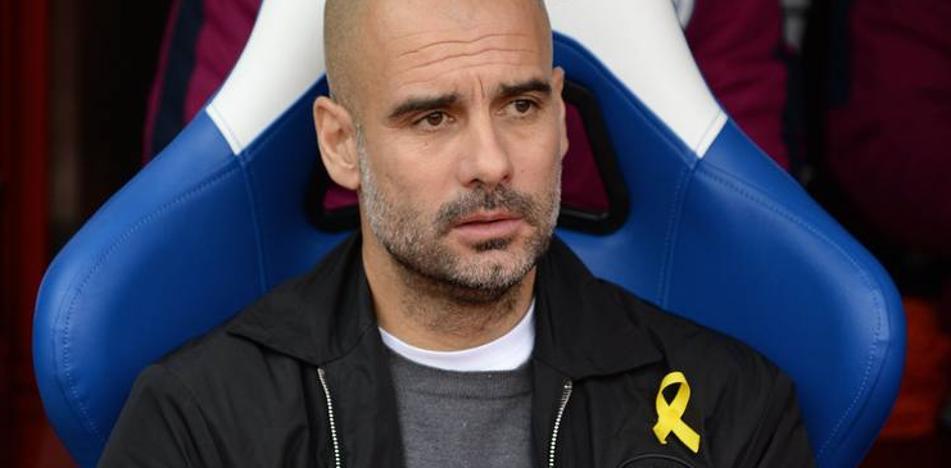 Guardiola dejará de llevar el lazo amarillo si perjudica al Manchester City