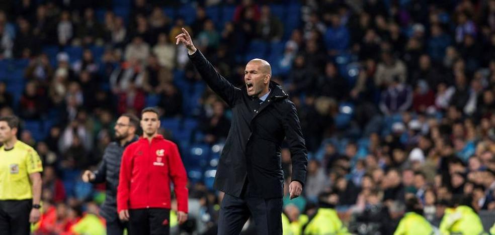 Zidane: «Nunca me meto, pero no fue penalti de Nacho»