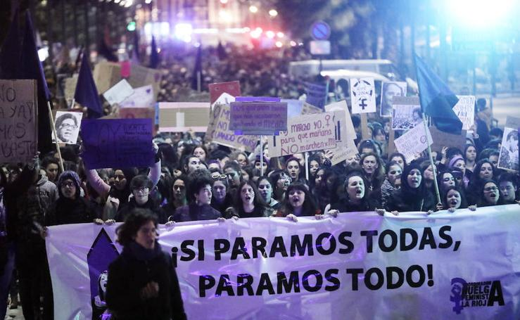 Manifestación de la Coordinadora feminista