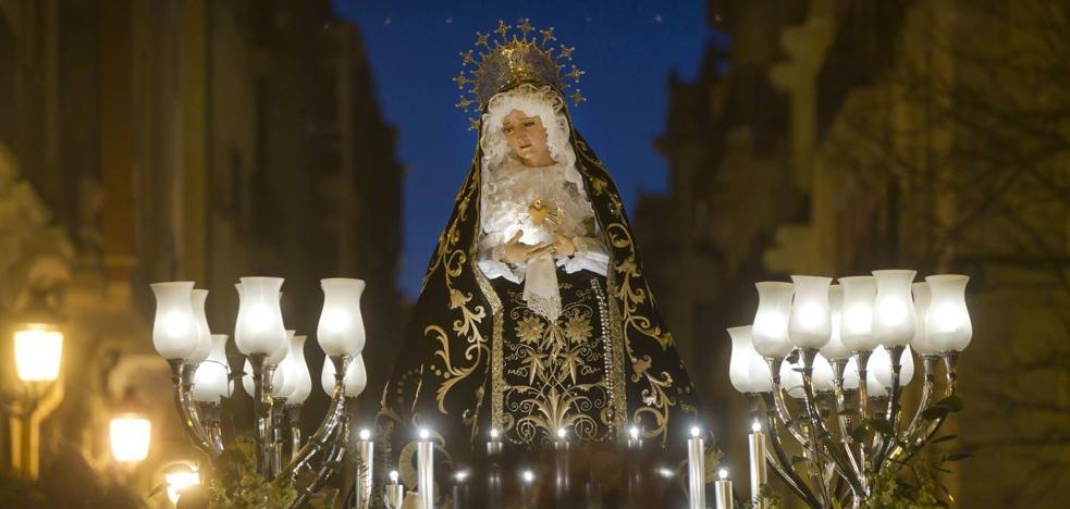 La 'Virgen de la Soledad' busca portadores para Semana Santa