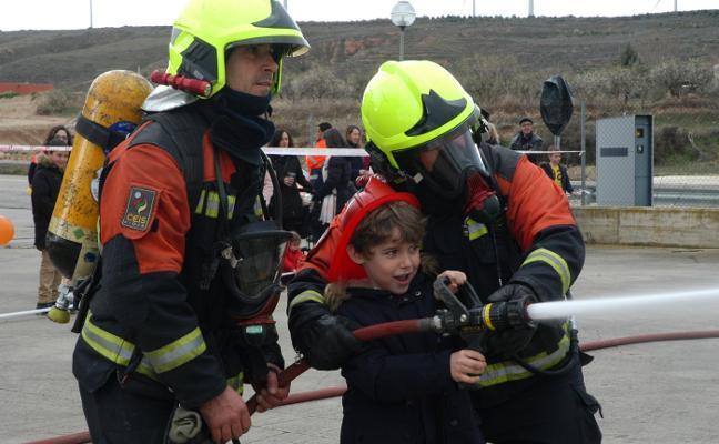 Los bomberos riojanos, de fiesta