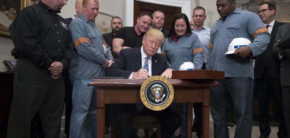 Aumenta el temor a que las medidas proteccionistas de EE UU lastren la economía