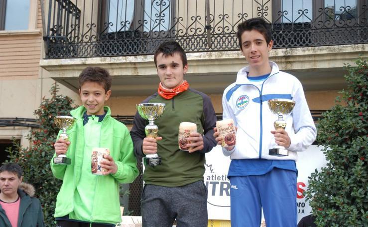 Entrega de premios de la 13ª carrera popular de Aldeanueva de Ebro