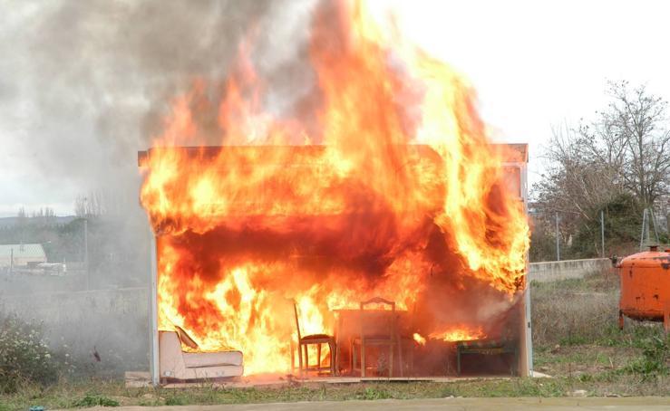 Fiesta de los bomberos en Calahorra