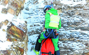 La patrulla de salvadores de la montaña en La Rioja