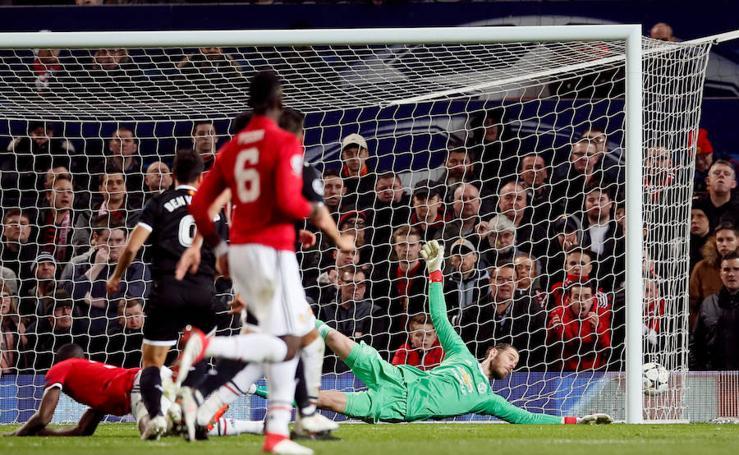 Las mejores imágenes del Manchester United-Sevilla